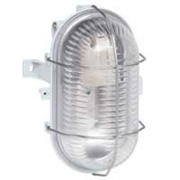Лампа овална с решетка