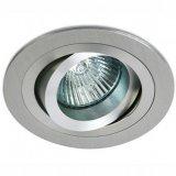 ЛУНА ЗА ВГРАЖДАНЕ ONE LIGHT с насочване кръг алуминий