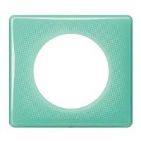 CEL Лицева рамка Зелен Тюркоаз единична
