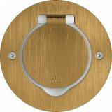 Метално тяло кръгло бронз за вграждане IP44 за 2М