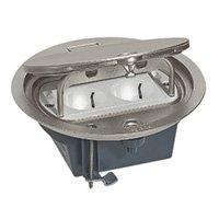 Метална подова кутия кръгла IP66