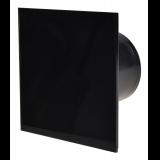 ВЕНТИЛАТОР Квадр. с клапа Черно стъкло гланц 105m3/h