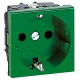 М45 Контакт 16А 2P+Е зелен