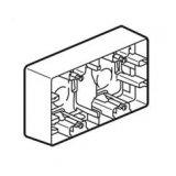 Niloe Двойна кутия открит монтаж крем