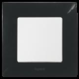 Niloe Лицева рамка Черна единична