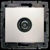 Телевизионна розетка индивидуална 2400 MHz Valena – алуминий