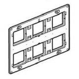 MOSAIC Носеща рамка 2х6/8 мод